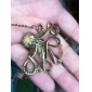 Octopus Vintage Long Necklace