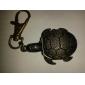 Unisex Turtles Stil Legierung Analog Quarz Schlüsselbund Halskette Uhr (Bronze)