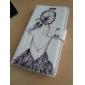Sexy Back Pattern Full Body Case with Stand and Card Slot for Samsung Galaxy S4 I9500