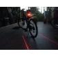 Eclairage de Velo , Eclairage ARRIERE de Vélo - 3 Mode Lumens Résistant aux impacts / Etanche AAA Batterie Cyclisme/Vélo Noir / Rouge Vélo