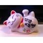 Solar Powered Lucky Cat Head Shaking Desktop Toy