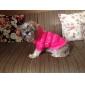 Курточка хлопковая теплая с капюшоном для собак