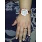 Ženski analogni kvarcni ručni sat, drvena narukvica (višebojni)