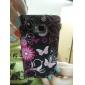 Blomma och Butterfly Soft Väska till Samsung Galaxy S2 i9100