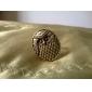 Z&X®  Hyperbolic Circular Restoring Owl Ring