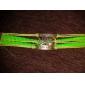 Lureme®Owl Charm Braided Bracelet inspirational bracelets Christmas Gifts