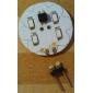 Capsule alogene 12 SMD 5630 G4 2 W 220 LM 2700K K Bianco caldo DC 12 V