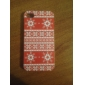 Red Clothing Style Back Case for iPhone 4/4S