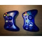 Xbox 360コントローラー(分類された色)に代わる透明なスタイルハウジングケース