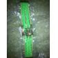 Lureme®Owl Charm Braided Bracelet