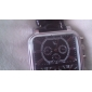 Argus Panoptes - Men's Watch Military Triple-Movement Square Dial Leather Strap
