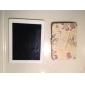 Elegant Flower Pattern PU Leather Case w/ Stand for iPad mini 3, iPad mini 2, iPad mini