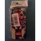 Roaring Caisse dure de PC de modèle de tigre avec cadre noir pour iPhone 5/5S