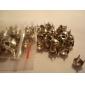 6mm Round Metal Diamond-studded Rivet (Contain 100 Pics)