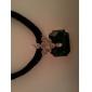 cuerda collar de perlas trenzado