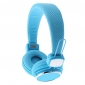 Kanen IP-850 Studio Headphone Folding with Mic Microphone (Assorted Colors)