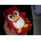 Penguin Silicone Case for iPhone 4 and 4S (Assorted Colors)