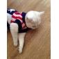 American Flag Pattern Sweater with Cap for Dogs Cats (XS-XL)