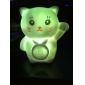 Fat Cat Shaped Colorful LED Night Light