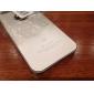 아이폰 5/5S 용 색상이 흐려지는 반투명 디자인 메탈 하드 케이스