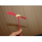 LED Flying Helicopter Umbrella Jet Plastic Dragonfly(Random Color)