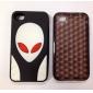 extra-terrestre modello di silicone caso di stile per iPhone 4 e (colori assortiti) 4s