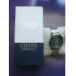 Men's Calendar Style Steel Analog Auto-mechanical Wrist Luxury Watch (Assorted Colors)