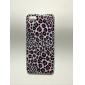 Purple Leopard Grain Pattern Back Case for iPhone 5/5S