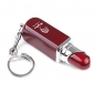 Lipstick Shape Metal Gas Lighter - Pink