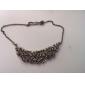 Ожерелье из сплава с инкрустированными кристаллами