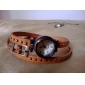 Relógio Feminino Bracelete Vintage (Cores Sortidas)