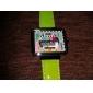 modèle de TV boîtier carré de la montre-bracelet PU bande de quartz des femmes (couleurs assorties)