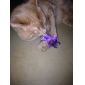 고양이를위한 작은 종 고양이 스타일 개박하 장난감 (보라색)