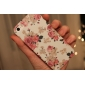 Exquisite Design Flower Pattern Relief Hard Case for iPhone 5/5S