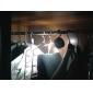 24 주도 야외 조명 강력한 램프 자기 캠핑 라이트 훅 옷장 등 (ramdon 색상