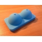Sexy Soft Silicone iBoobies Case for iPhone 4/4S (Blue)