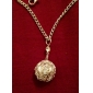 Metal Ball Shaped Necklace