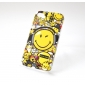 Smile Face Pattern Protective Hard Case for iPhone 4/4S