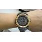 hombres silicona digitales deporte reloj de pulsera automático (colores surtidos)