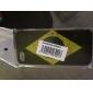 retro Brasil flag padrão hard case protetora para iPhone 5/5s