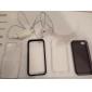 Capa Durável Rígida Transparente para iPhone 5/5s (Cores Variadas)