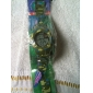 Children's LCD Digital Multi-Functional Camouflage Rubber Band Wrist Watch (Assorted Colors)