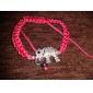 Bracelet Charmes pour Bracelets Alliage Strass Tissu Forme de Lettres Original Amitié Mode Fait à la main Anniversaire Décontracté Bijoux