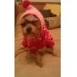 Warm Sweater with Cap for Dogs Cats (Random Color,XS-XL)