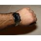 Men's Steel Analog Quartz Wrist Watch (Silver)