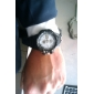Unisex Multi-movimento de borracha relógio de pulso analógico-digital (sortidas Banda Cores)