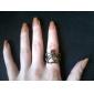 반지 보석류 합금 문자 반지8 골든