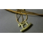 Golden Pendant Necklaces Alloy Party Jewelry