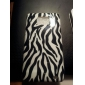 Zebra Stripe Pattern Case Duro para Samsung I9100 Galaxy S2