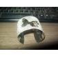 Borboleta Esculpida flash Pulseira de metal